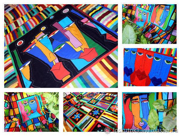 Красивое лоскутное шитье для взрослых и для детей. Пэчворк покрывала, одеяла, пледы, панно и подушки — в спальню, в гостинную, в детскую и на дачу! | Ярмарка Мастеров - ручная работа, handmade