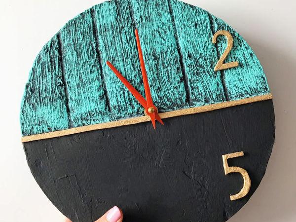 DIY Самодельные часы / Поделка из картона | Ярмарка Мастеров - ручная работа, handmade