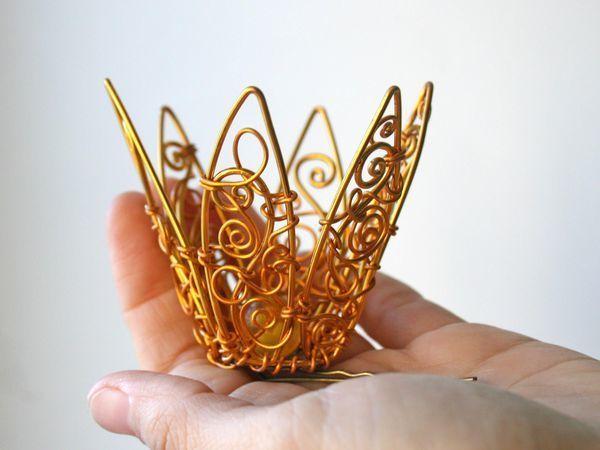 Корона в наличии | Ярмарка Мастеров - ручная работа, handmade