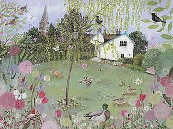 Вдали от города: душевная атмосфера сельской местности в картинах художницы Lucy Grossmith   Ярмарка Мастеров - ручная работа, handmade