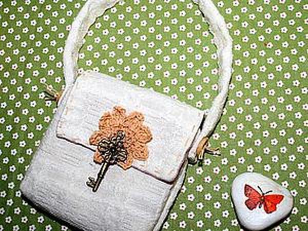 1b1dab330f0f Шьем простую сумочку для куклы | Ярмарка Мастеров - ручная работа, handmade