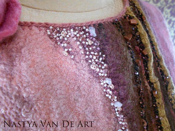 Аукцион на валяную блузку! Старт 1500 рублей! | Ярмарка Мастеров - ручная работа, handmade