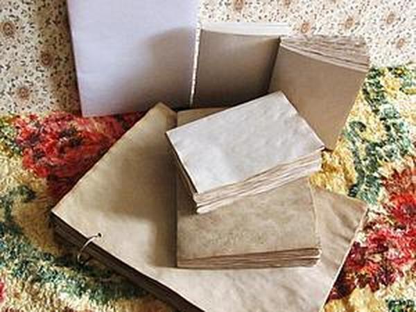 Аукцион! Блоки для блокнотов 6шт. | Ярмарка Мастеров - ручная работа, handmade