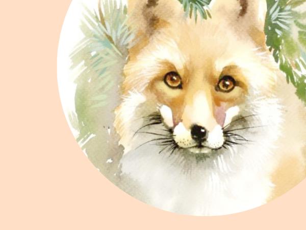 Символы: лисица | Ярмарка Мастеров - ручная работа, handmade