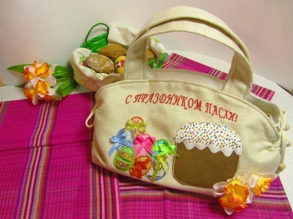 Шьем пасхальную сумку-скатерть   Ярмарка Мастеров - ручная работа, handmade
