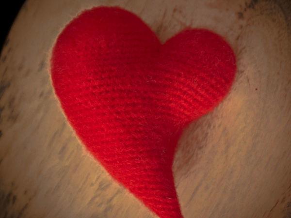 Вяжем крючком асимметричное сердечко | Ярмарка Мастеров - ручная работа, handmade