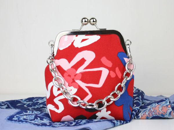 Шьем небольшую сумочку с фермуаром | Ярмарка Мастеров - ручная работа, handmade