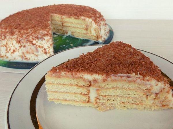 Торт без выпечки с творожным кремом | Ярмарка Мастеров - ручная работа, handmade