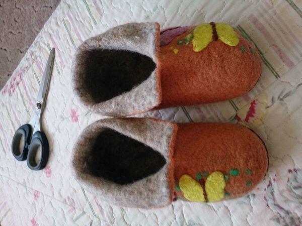 Чуни для девочки, или Как я использую остатки флиса. Часть 2 | Ярмарка Мастеров - ручная работа, handmade