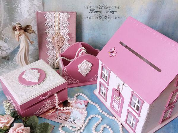 «Розовая нежность» | Ярмарка Мастеров - ручная работа, handmade