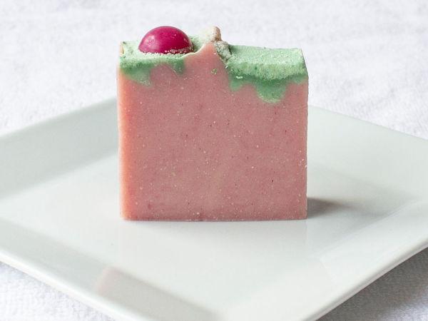 Мыло  «Вишневый торт»   Ярмарка Мастеров - ручная работа, handmade
