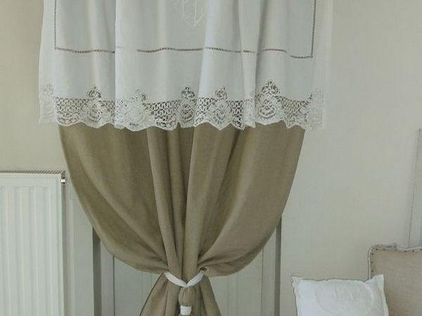 Идеи штор и занавесок в винтажном стиле для дачного дома | Ярмарка Мастеров - ручная работа, handmade