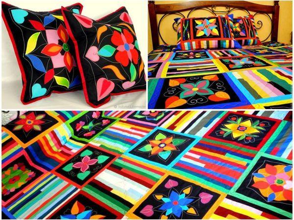 Лоскутное покрывало  «Философия цвета» | Ярмарка Мастеров - ручная работа, handmade