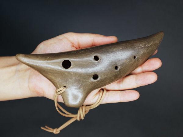 Образец звучания окарины:  «Ворон» | Ярмарка Мастеров - ручная работа, handmade
