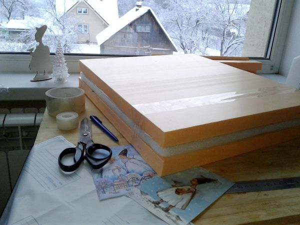 Как упаковать картину быстро, надёжно, бюджетно | Ярмарка Мастеров - ручная работа, handmade