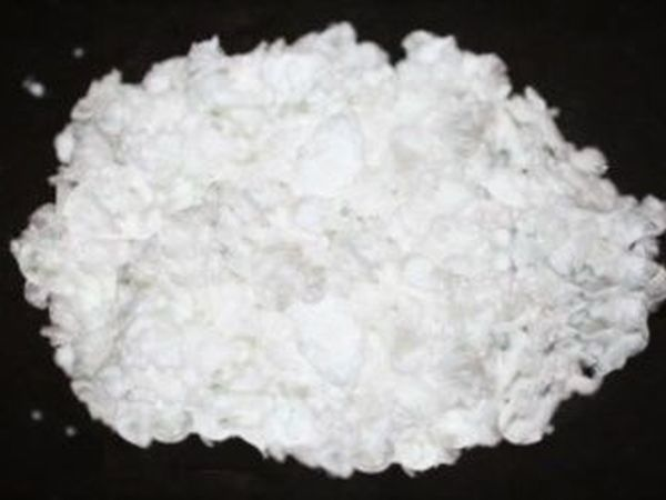 Белый волокнистый порошок для декора | Ярмарка Мастеров - ручная работа, handmade
