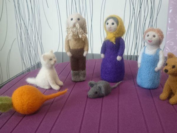 Оживим сказку: зачем ребенку домашний кукольный театр на столе. | Ярмарка Мастеров - ручная работа, handmade