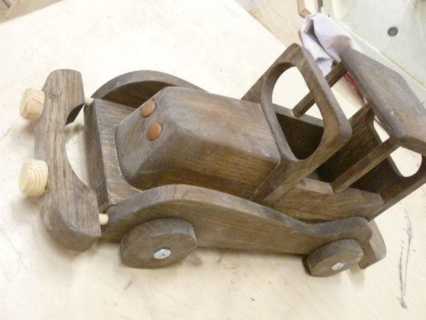 Машинка из дерева своими руками | Ярмарка Мастеров - ручная работа, handmade