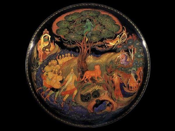 Искусство Палеха | Ярмарка Мастеров - ручная работа, handmade