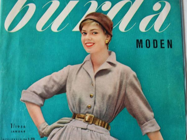 Burda moden 1/1956  Бурда Моден   Ярмарка Мастеров - ручная работа, handmade