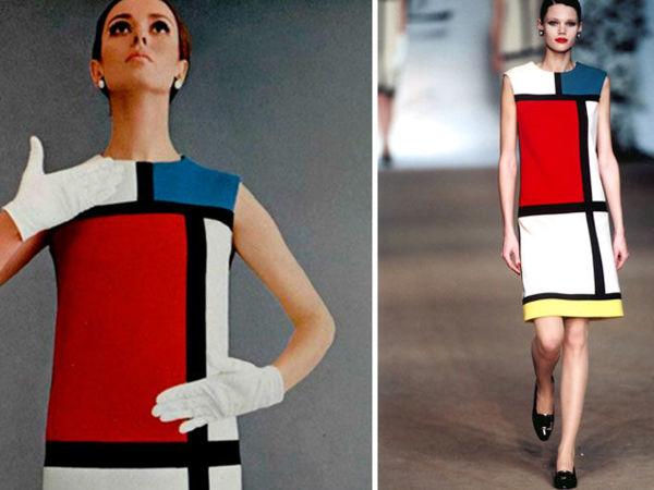 Легендарное платье «Мондриан» от Ив Сен-Лорана | Ярмарка Мастеров - ручная работа, handmade
