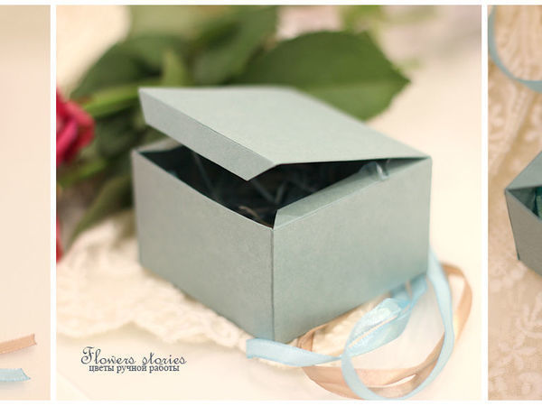 Создаем коробочку для небольших украшений | Ярмарка Мастеров - ручная работа, handmade
