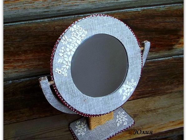 Преображаем старое зеркало в новое | Ярмарка Мастеров - ручная работа, handmade