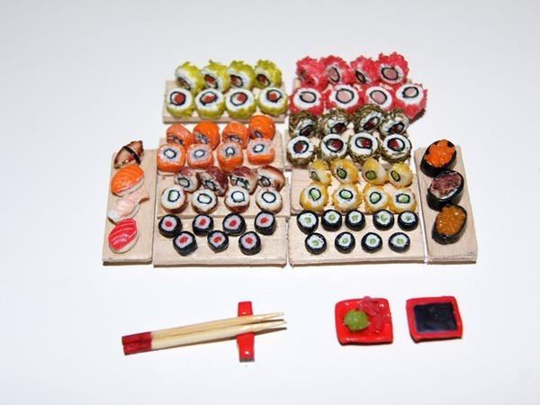Видео мастер-класс: как сделать роллы и суши для кукол | Ярмарка Мастеров - ручная работа, handmade