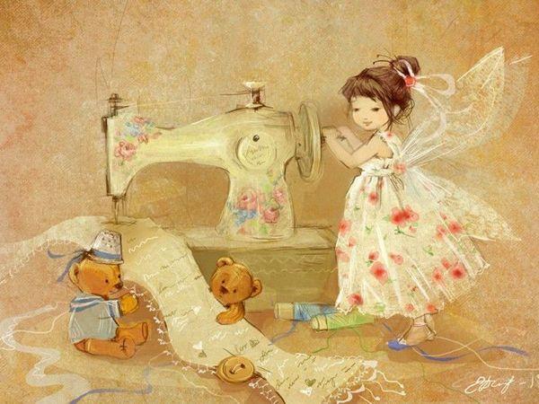 Очаровательные феи Екатерины Бабок | Ярмарка Мастеров - ручная работа, handmade
