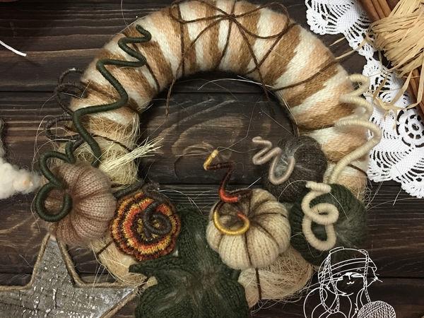 Тыквенное время — вяжем тыквы к Хэллоуину | Ярмарка Мастеров - ручная работа, handmade
