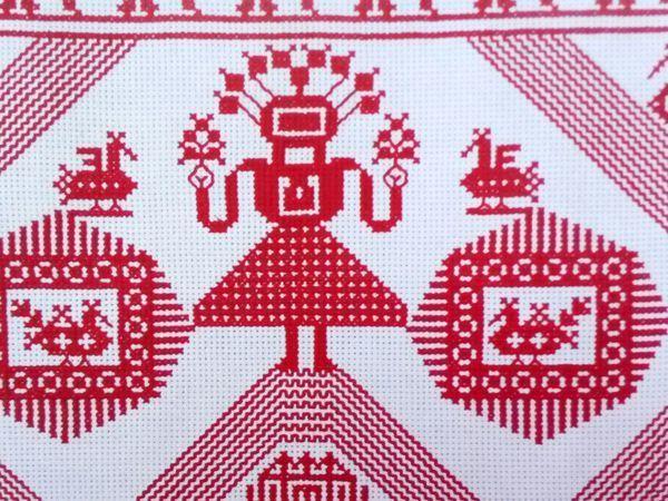 Птицы в славянской обережной вышивке | Ярмарка Мастеров - ручная работа, handmade