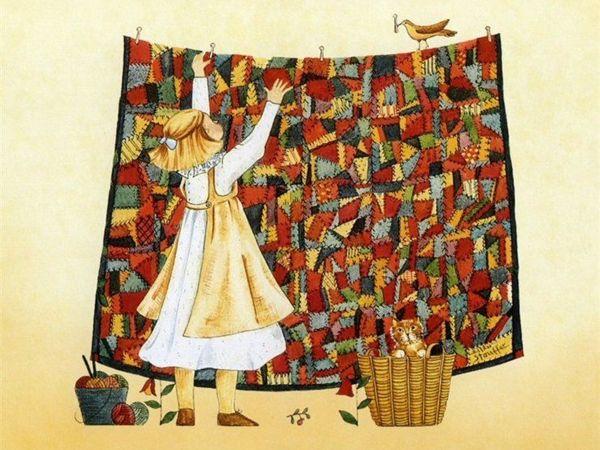 Отдельный привет любителям лоскутов и тканюшек ! | Ярмарка Мастеров - ручная работа, handmade