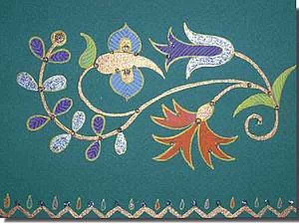 Крымско-татарский орнамент | Ярмарка Мастеров - ручная работа, handmade