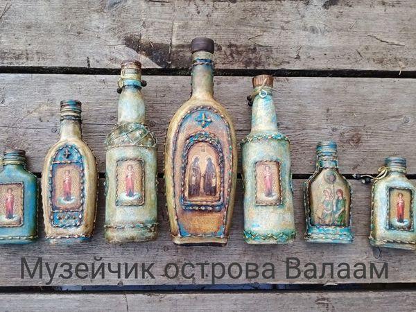 Коллекция сосудов для Святой воды | Ярмарка Мастеров - ручная работа, handmade