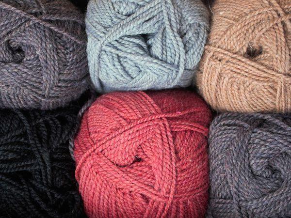 Простой и удобный способ вязания из фабричного мотка | Ярмарка Мастеров - ручная работа, handmade