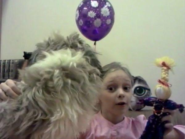 Видео мастер-класс: делаем с детьми куклу-мотанку   Ярмарка Мастеров - ручная работа, handmade