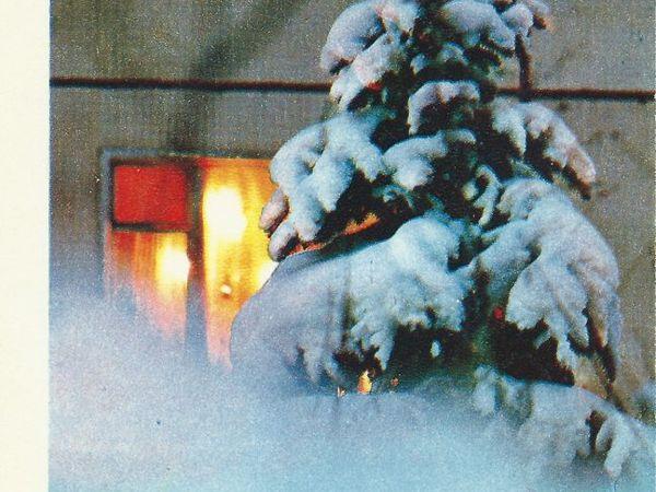 Новогодняя открытка — взгляд в прошлое. Два варианта   Ярмарка Мастеров - ручная работа, handmade