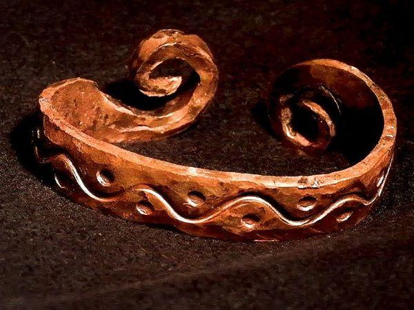 Винтажный браслет своими руками   Ярмарка Мастеров - ручная работа, handmade