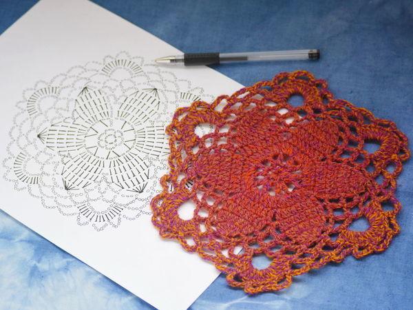 Вяжем крючком цветочный кардиган | Ярмарка Мастеров - ручная работа, handmade