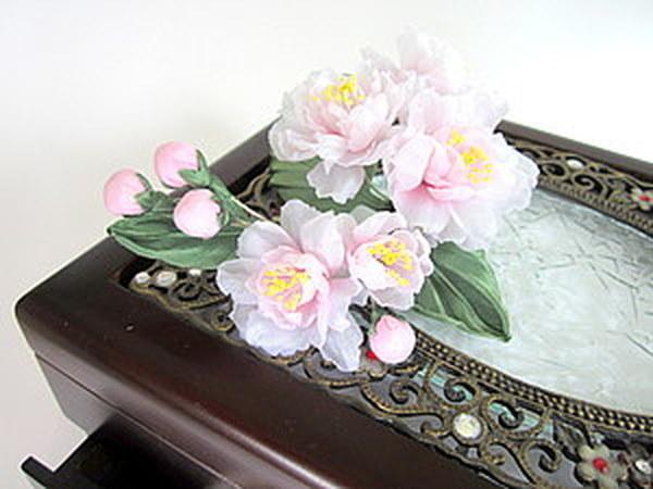 Сакура из шелка | Ярмарка Мастеров - ручная работа, handmade