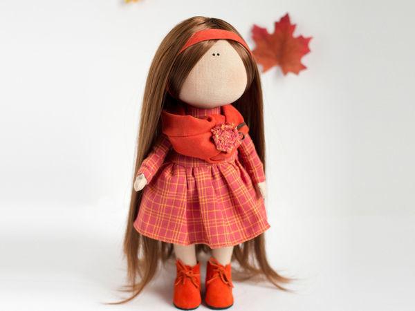 15d71ffb984 Текстильная кукла от макушки до пяточек – Ярмарка Мастеров