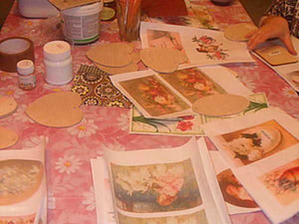 2 способа истончить распечатку для декупажа   Ярмарка Мастеров - ручная работа, handmade