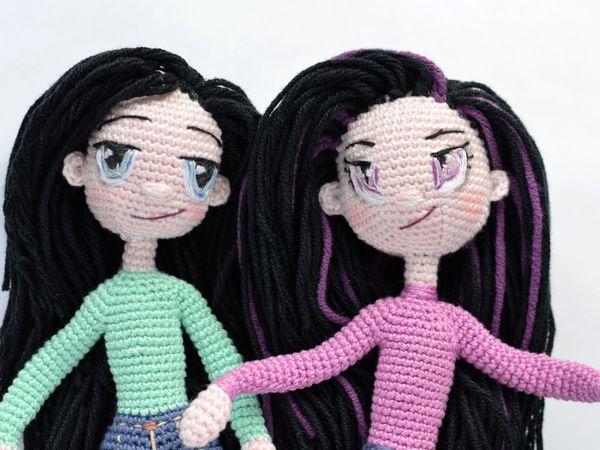 Подробный фото МК по вязаным куколкам | Ярмарка Мастеров - ручная работа, handmade