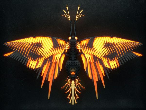 Полигональные насекомые от Иштвана Джордано | Ярмарка Мастеров - ручная работа, handmade
