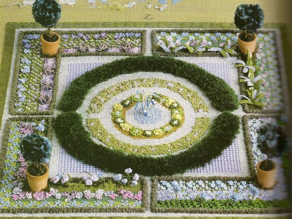 Объемный сад от английского вышивальщика Owen Davies | Ярмарка Мастеров - ручная работа, handmade