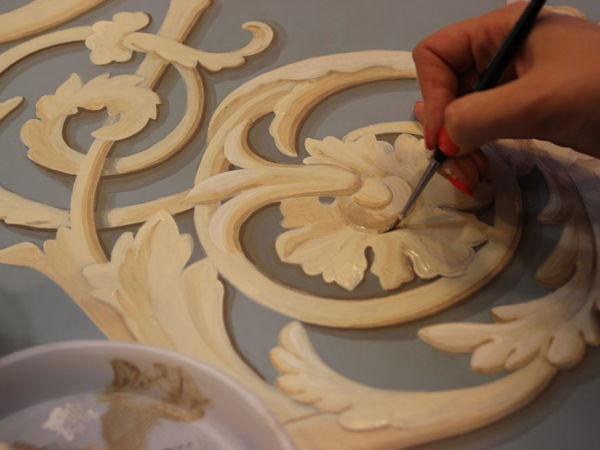 Серия « Настенные техники »  Курс — Альфрейная роспись   Ярмарка Мастеров - ручная работа, handmade