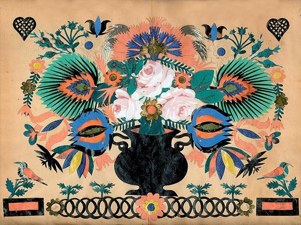 Народное искусство Швейцарии в работах Johann-Jakob Hauswirth