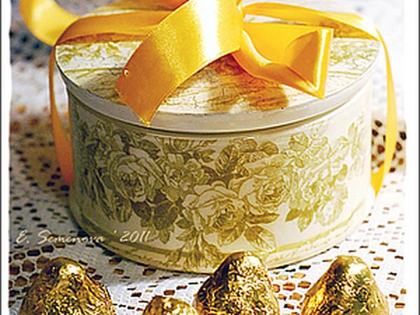 Подарочная новогодняя шкатулка | Ярмарка Мастеров - ручная работа, handmade