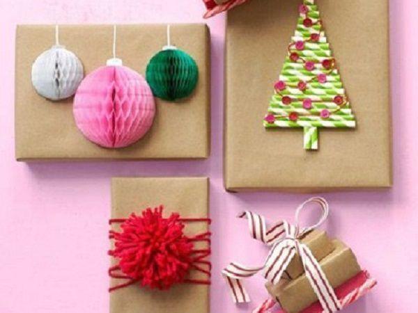 20 идей упаковки подарков в крафт-бумагу   Ярмарка Мастеров - ручная работа, handmade