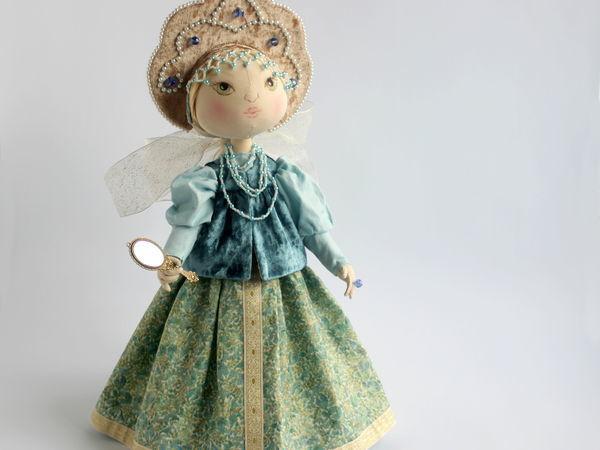Шьем текстильную куклу Аленушку   Ярмарка Мастеров - ручная работа, handmade